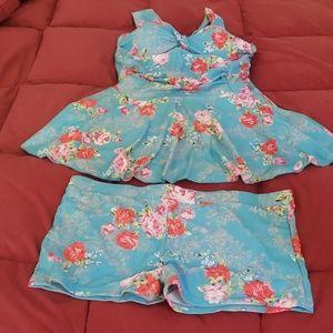 Other - Bathing Suit (swim top & boy shorts)